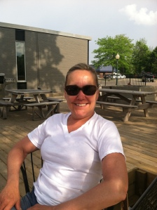 Me+sun+patio+cold beer=relaxation!