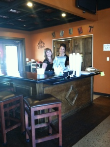 Servers Alyssa and Audrey do a great job, and always have a smile for you!