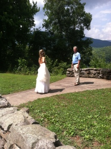 Beautiful day; Beautiful Bride; happy Dad