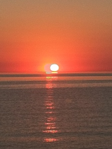 Nothing beats a Lake Michigan sunset