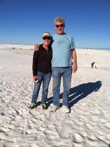 White Sands. Don't forget your shades!